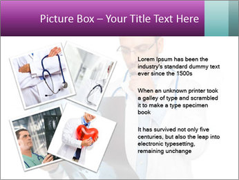 Doctor Examines X-Ray PowerPoint Template - Slide 23