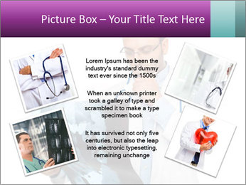 Doctor Examines X-Ray PowerPoint Template - Slide 24
