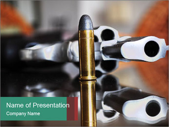 Revolver PowerPoint Template