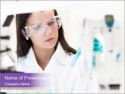 The laboratory staff PowerPoint Template