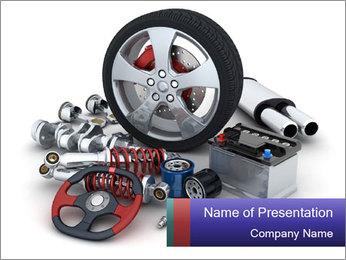 Car parts Modèles des présentations  PowerPoint