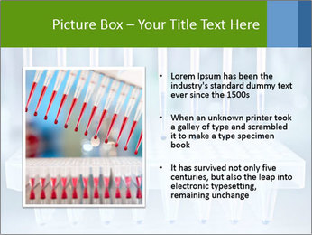 Test tubes for blood tests PowerPoint Template - Slide 13