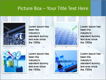 Test tubes for blood tests PowerPoint Template - Slide 14