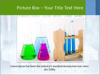 Test tubes for blood tests PowerPoint Template - Slide 15