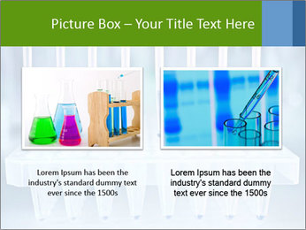 Test tubes for blood tests PowerPoint Template - Slide 18