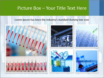 Test tubes for blood tests PowerPoint Template - Slide 19