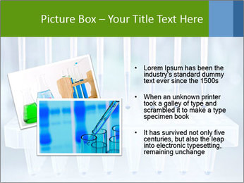 Test tubes for blood tests PowerPoint Template - Slide 20