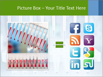 Test tubes for blood tests PowerPoint Template - Slide 21
