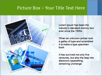 Test tubes for blood tests PowerPoint Template - Slide 23