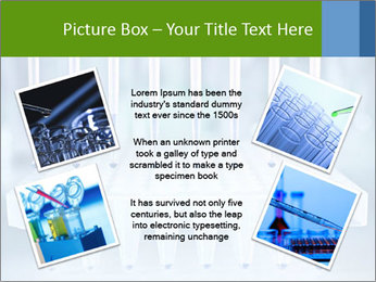 Test tubes for blood tests PowerPoint Template - Slide 24
