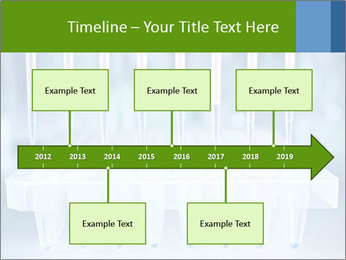 Test tubes for blood tests PowerPoint Template - Slide 28