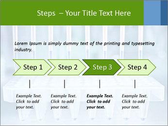 Test tubes for blood tests PowerPoint Template - Slide 4