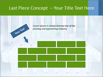 Test tubes for blood tests PowerPoint Template - Slide 46