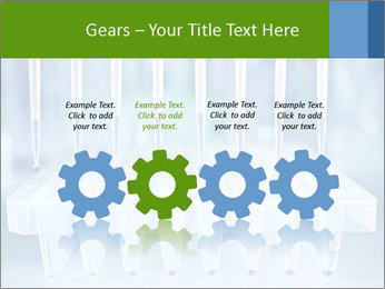 Test tubes for blood tests PowerPoint Template - Slide 48