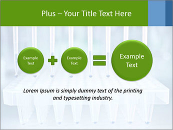 Test tubes for blood tests PowerPoint Template - Slide 75