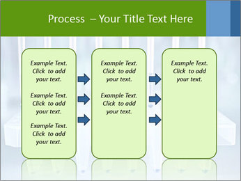 Test tubes for blood tests PowerPoint Template - Slide 86