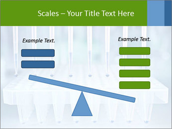 Test tubes for blood tests PowerPoint Template - Slide 89