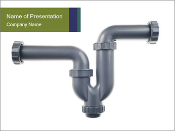 Downspout PowerPoint Template - Slide 1