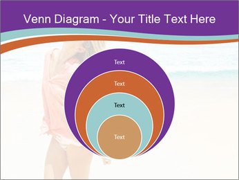 Beautiful Lady On Beach PowerPoint Template - Slide 34