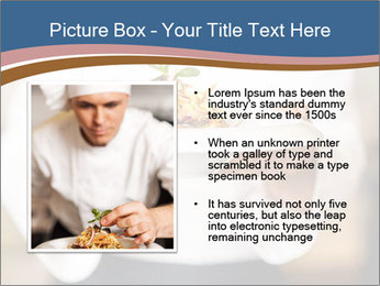 Chef Holding Dish PowerPoint Template - Slide 13