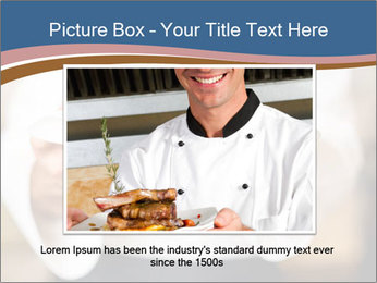 Chef Holding Dish PowerPoint Template - Slide 16