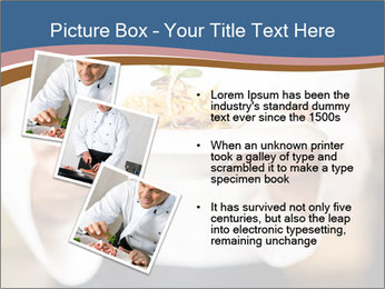Chef Holding Dish PowerPoint Template - Slide 17