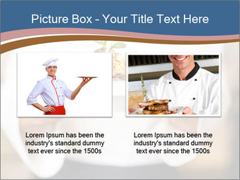 Chef Holding Dish PowerPoint Template - Slide 18