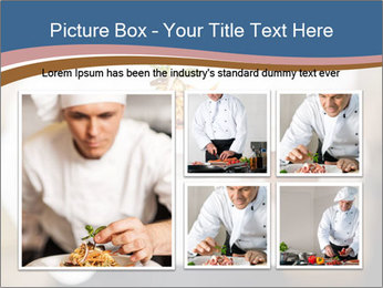 Chef Holding Dish PowerPoint Template - Slide 19