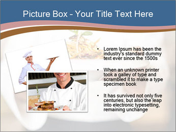 Chef Holding Dish PowerPoint Template - Slide 20