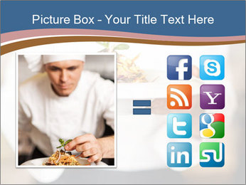 Chef Holding Dish PowerPoint Template - Slide 21