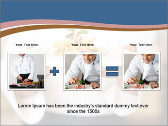 Chef Holding Dish PowerPoint Template - Slide 22
