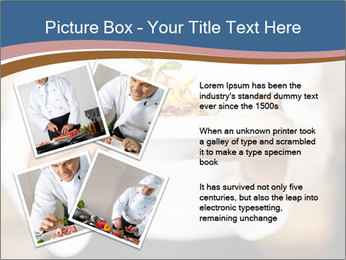 Chef Holding Dish PowerPoint Template - Slide 23
