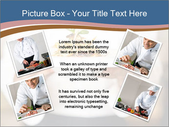 Chef Holding Dish PowerPoint Template - Slide 24