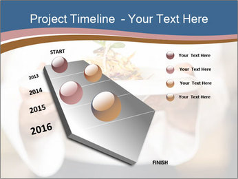 Chef Holding Dish PowerPoint Template - Slide 26