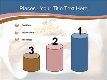 Chef Holding Dish PowerPoint Template - Slide 65