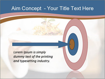 Chef Holding Dish PowerPoint Template - Slide 83
