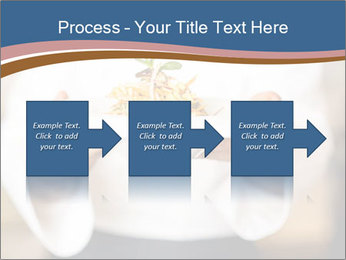 Chef Holding Dish PowerPoint Template - Slide 88
