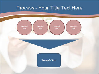 Chef Holding Dish PowerPoint Template - Slide 93