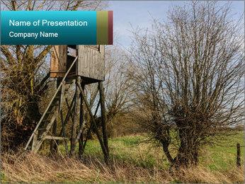Hunt Seat PowerPoint Template - Slide 1