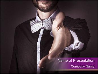 Dandy Man PowerPoint Template - Slide 1