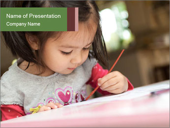 Home Education PowerPoint Template - Slide 1