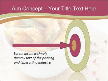 Village Potatoes PowerPoint Template - Slide 83