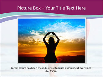 Man With Red Lattern PowerPoint Template - Slide 16
