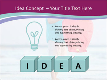 Man With Red Lattern PowerPoint Template - Slide 80