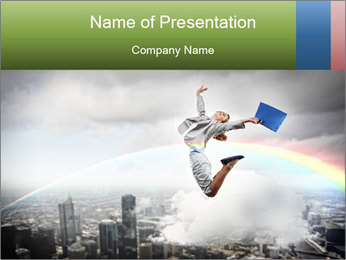 Success in business PowerPoint Template