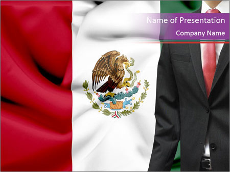 Mexican business PowerPoint Template