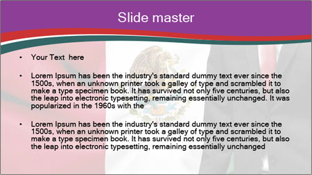 Mexican business PowerPoint Template - Slide 2