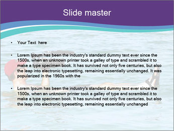 Professional photography sea PowerPoint Template - Slide 2