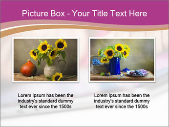 Girl playing with the tablet PowerPoint Template - Slide 18