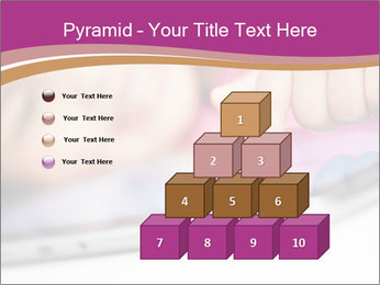 Girl playing with the tablet PowerPoint Template - Slide 31